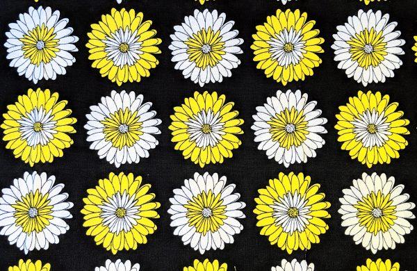 Yellow and White Flower Bandana