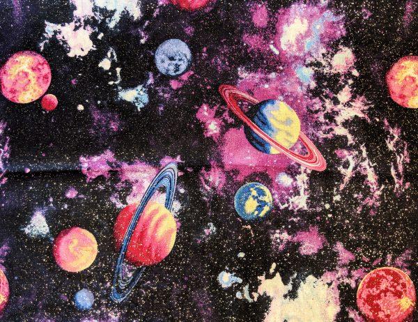 Glittery Galaxy Bandana