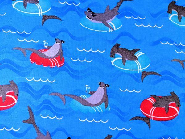 Floating Sharks Bandana