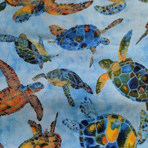 Colorful Sea Turtle Bandana