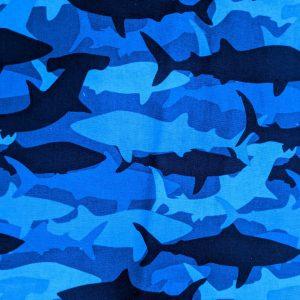 Camo Shark Bandana