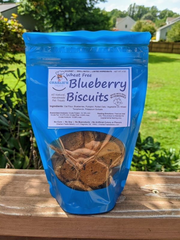 Small Blueberry Biscuits Bag