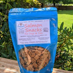 Small Salmon Snacks Bag