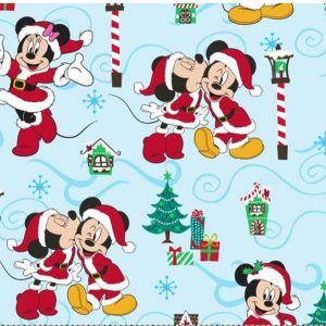 Mickey and Minnie Christmas Bandana