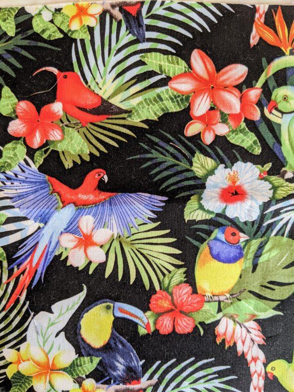 Parrots on Flowers