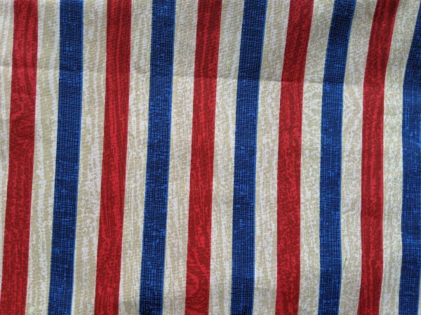 Red, White & Blue Wood