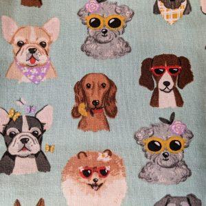 Fabulous Dogs on Blue