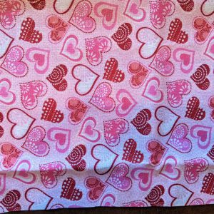 Sparkly Pink Hearts