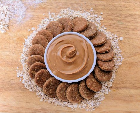 Gourmet, All Natural Peanut Butter Cookies Dog Treats