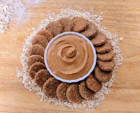 Gourmet, All Natural Peanut Butter Cookies Dog Treats