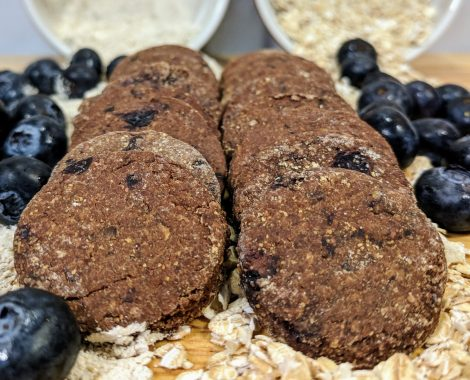 Gourmet, All Natural Blueberry Biscuits Dog Treats